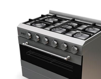 Cuisiniere gaz butane pas cher po le cuisine inox - Gaziniere pas cher ...